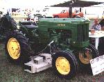 JD 40 w/ belly mower